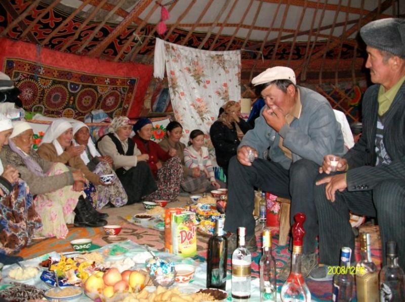 Блог - asaubota: Қонақ дастарханын сынап кету