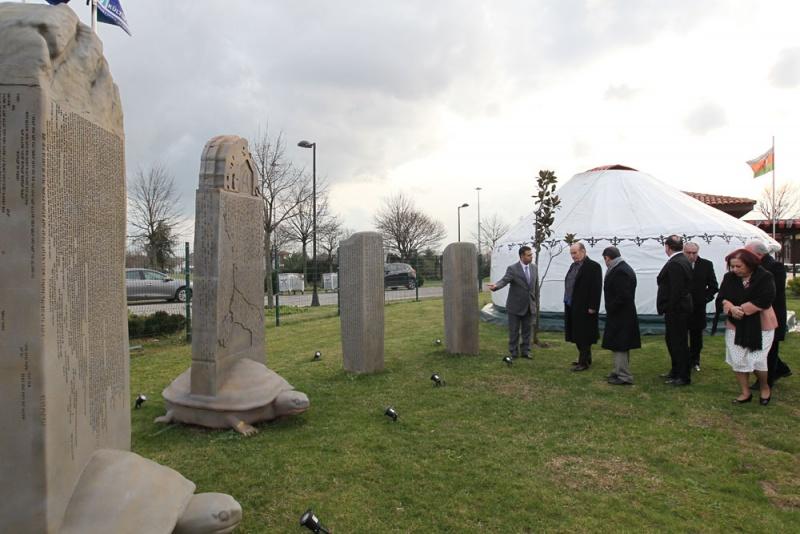 Блог - asaubota: Стамбулдағы Түркі Әлемі Мәдениет Орталығында музей үйлер ашылды