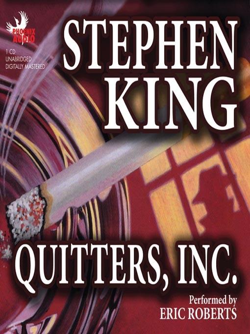 Аударма: Стивен Кинг. «Темекіні тастаңыз» корпорациясы