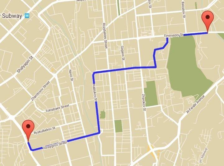 Блог - patick: Веложол: Орбитадан ҚазҰУ-ға дейін (+видео)