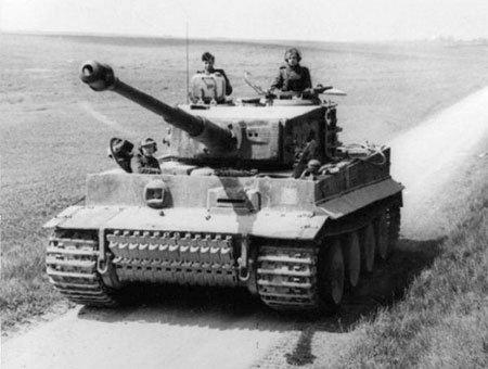Қарулар: 1941-45 жылдардағы моторлы ұрыс техникалары сериясы. Хермания. Tiger