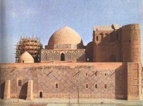 Блог - Janasil: Қожа Ахмед Ясауи кесенесіне шолу