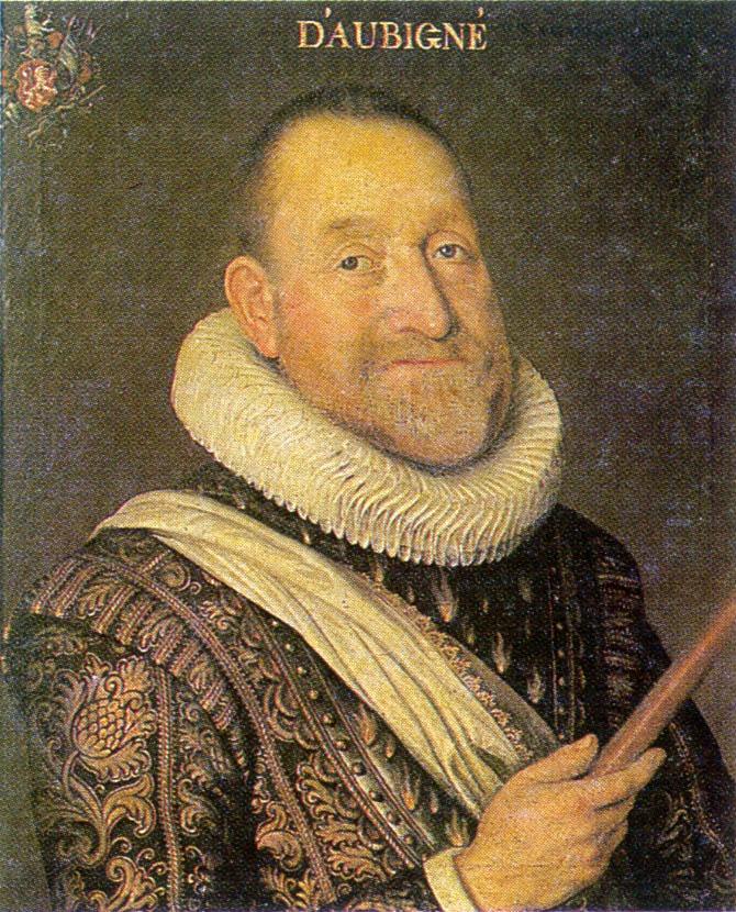 Өлеңге әркімнің-ақ бар таласы...: Теодор Агриппа Д'Обинье  (1552-1630)