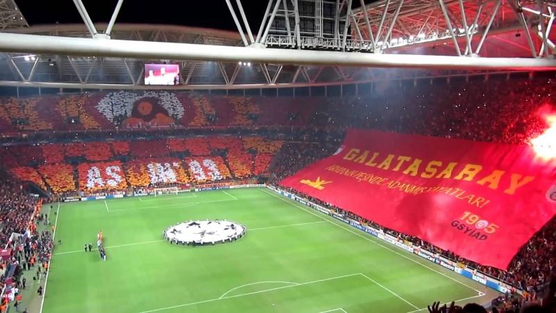 Футбол, тек қана футбол!: Галатасарайдың жаңа стадионындағы матчтан кейін....