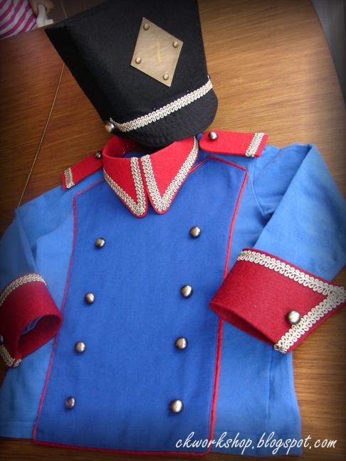 Как сделать костюм оловянного солдатика для мальчика своими руками