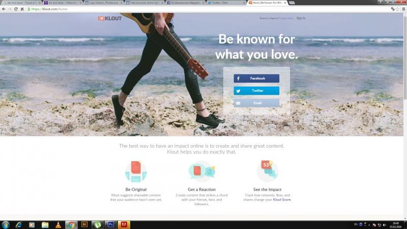 Блог - shota2030: Klout бізге не береді?