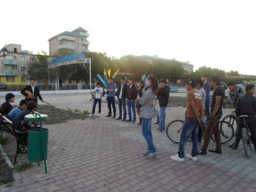Ақ парақтағы ойлар: AitaberPress: Домбыра Party Қызылордада