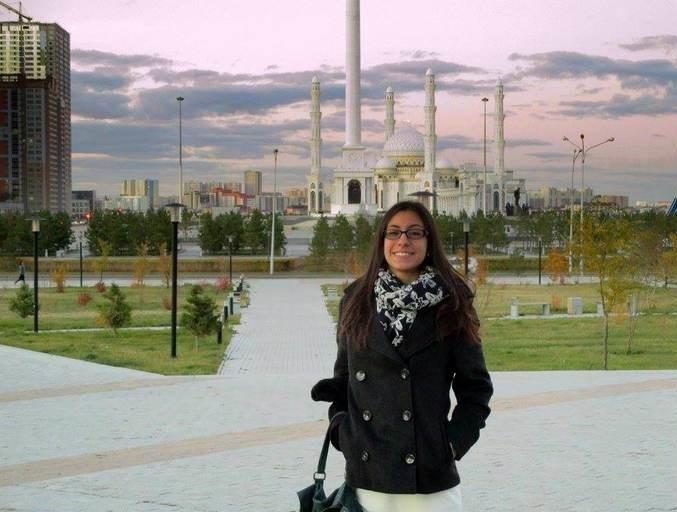 Блог - Aya: ALESSIA MEMMOLA: «АСТАНАНЫҢ КЕЛБЕТІ МЕН ОЙЛАҒАННАН ДА ӘДЕМІ ЕКЕН»