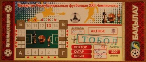 Футбол, тек қана футбол!: Қазақша Эль-Классико: ФК Ақтөбе vs Тобыл 1-0 (бірінші тайм фотолары)