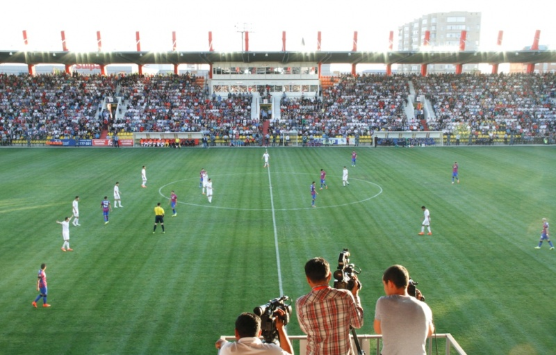 Футбол, тек қана футбол!: FC Aqtobe қарсы FC Steaua 2-2 (фотолар)