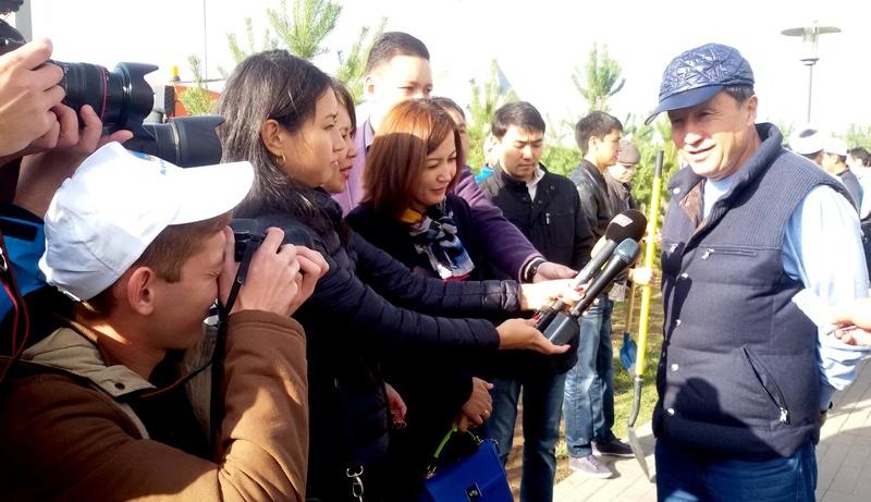 Астана жаңалықтары: Біз  таза қала үшін сенбілікке қатысып келдік