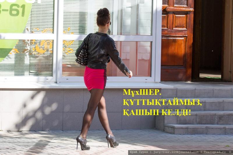 Блог - Satira: МұхШЕР. ҚҰТТЫҚТАЙМЫЗ, ҚАШЫП КЕЛДІ!