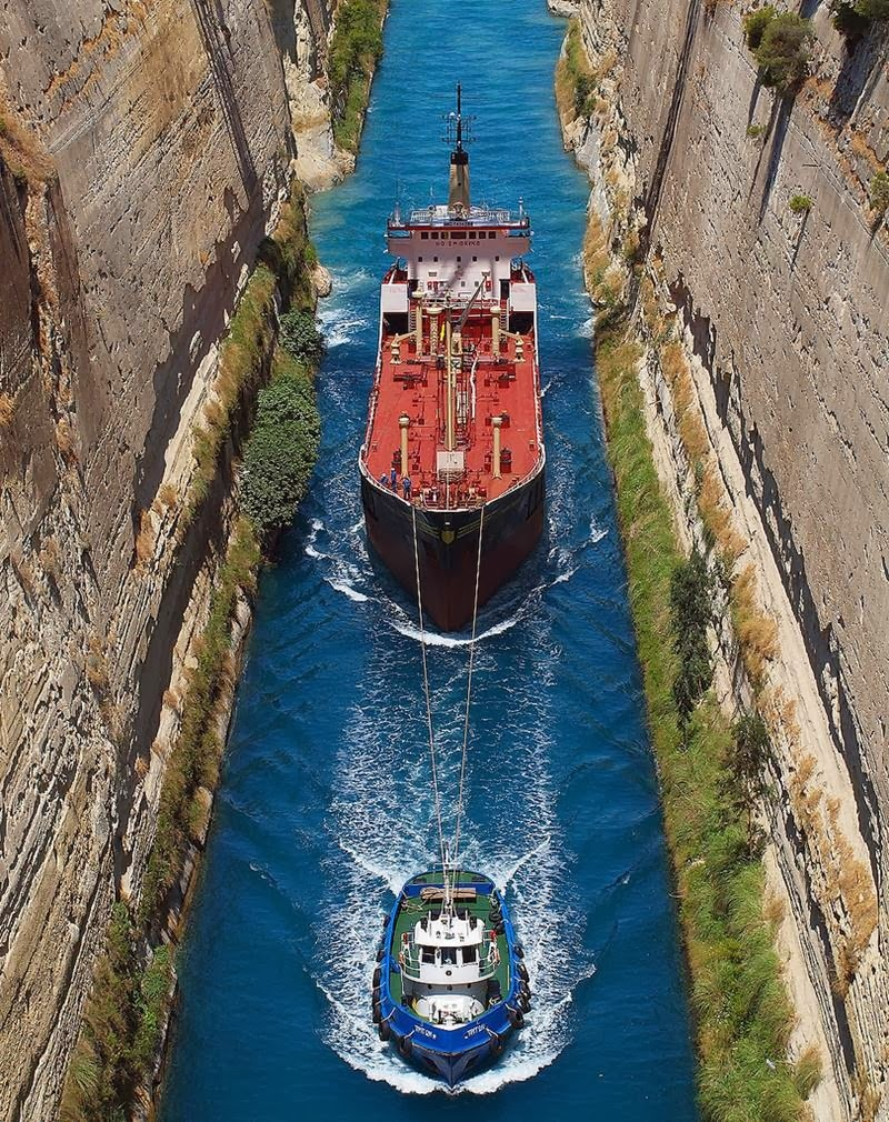 Блог - assar: Грецияда Коринт Каналы туралы не білеміз ?