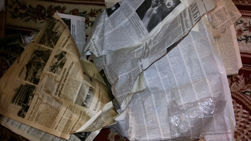 Блог - afrodita: Газет тұрмыста