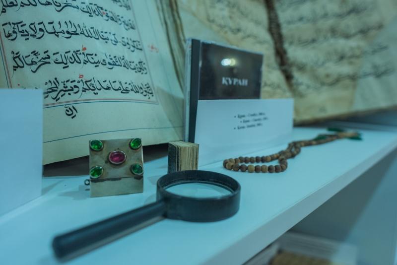 Білім және ғылым: Астанада сирек кездесетін кітаптар мен қолжазбалар көрмесі ұйымдастырылды