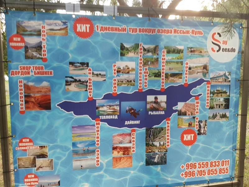 Блог - Basic: Ыстықкөл сапары: салқынқанды турист есебі