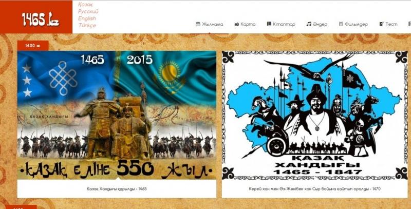 Астана жаңалықтары: 1465.kz Қазақ Хандығы тарихына арналған мультимедиалық сайтының тұсауы кесілді