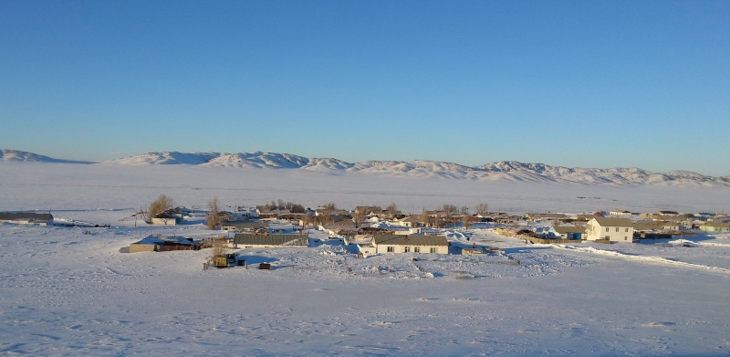 Блог - KerimAyankyzy: Қар астындағы ауыл
