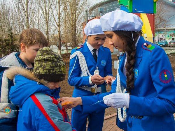 Астана жаңалықтары: «Назар аударыңыз, жүргінші» акциясы басталды