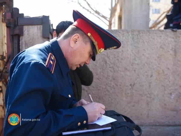 Астана жаңалықтары: Экология мәселесі тәртіп сақшыларының назарында
