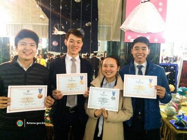 Астана жаңалықтары: Астаналық оқшылар ғарыштық зерттеулер жарысынан жүлделі келді
