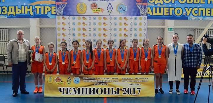 Астана жаңалықтары: Елордалық баскетболшылар ҚР чемпионы атанды