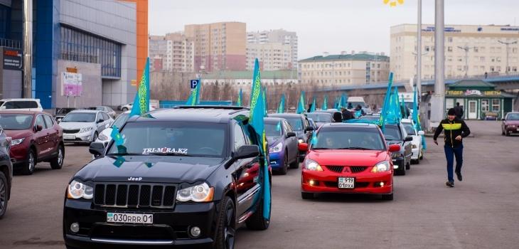Астана жаңалықтары: Астанада мерекелік автошеру өтті