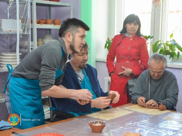Астана жаңалықтары: Мүмкіндігі шектеулі, шабыты шексіздер