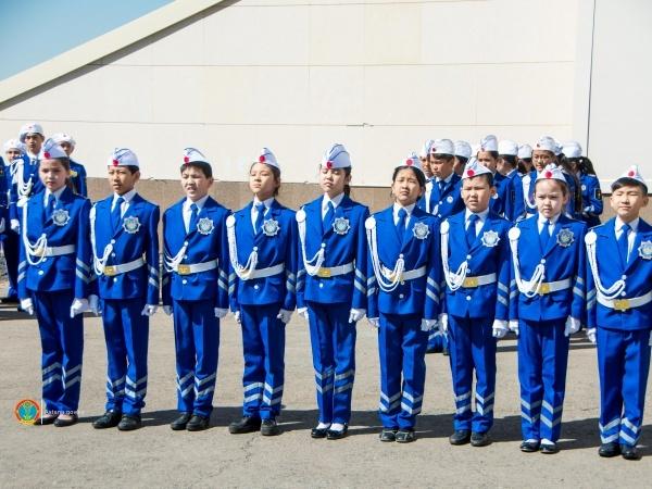 Астана жаңалықтары: Жас инспекторлар слеті өтуде