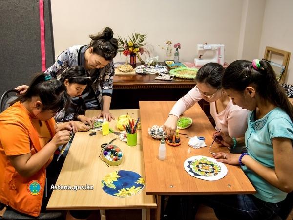Астана жаңалықтары: Мүмкіндігі шектеулі адамдарға арналған тегін курстар