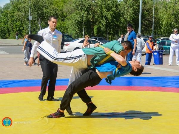 Астана жаңалықтары: Астанада Сабантой мерекесі өтті