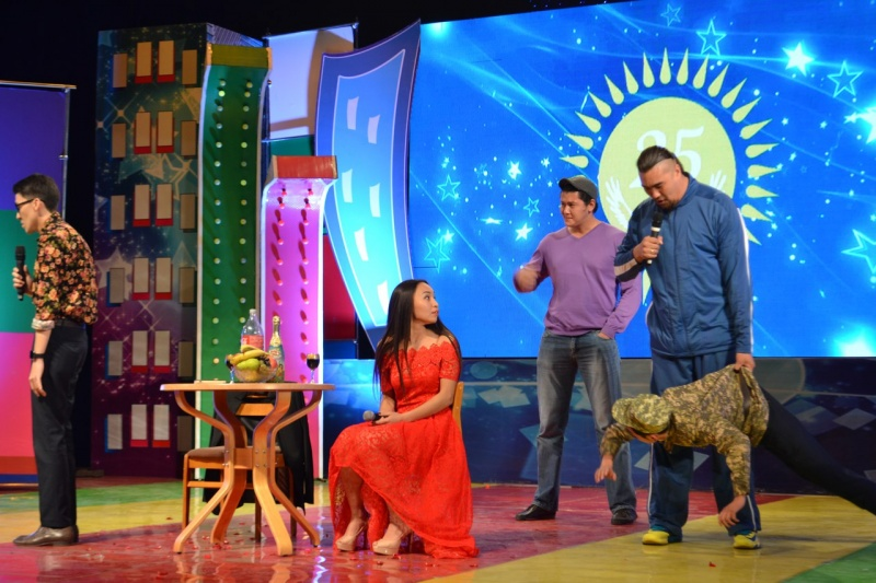 Блог - jaidarman: Алматыда Қазақша КВН ойындарының алғашқы жартылай финалы өтті
