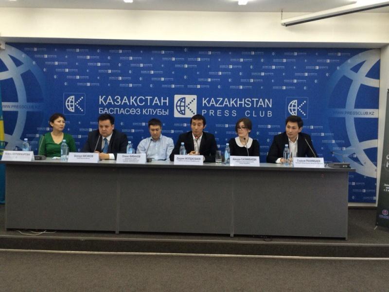 Блог - EcoTanba: Сегодня в Алматы прошла пресс конференция, посвященная предстоящему экологическому марафону по очистке гор «Охота на мусор»
