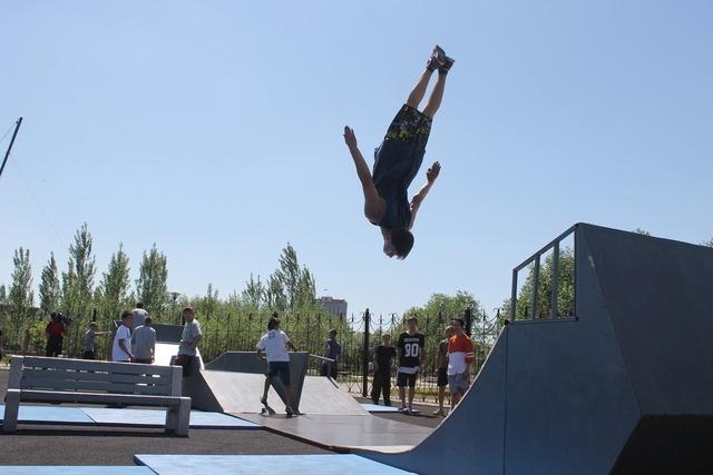 Блог - ad1lbekk: Астанада паркурден жарыс өтті