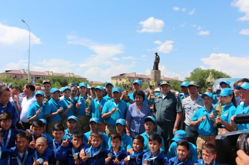 Алматы облысы: Талдықорған қаласында «Айбын» әскери-патриоттық жиынның жеңімпаздарын салтанатты түрде қарсы алды