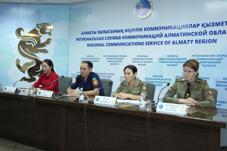 Алматы облысындағы өрт қауіпсіздігі