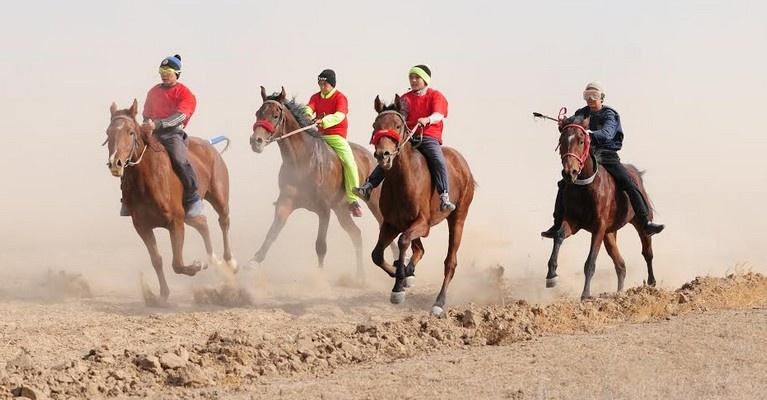 Алматы облысында ұлттық ат спорты түрінен жарыс өтті